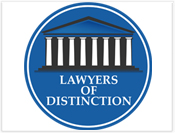 Lawyers Distinction Badge - Central Florida Orlando