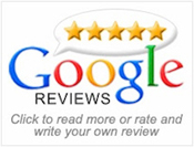 google review 5-star rating badge Law Firm